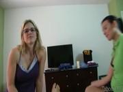 Порно видео доченька